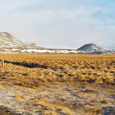 Road trip islandais en hiver et en famille