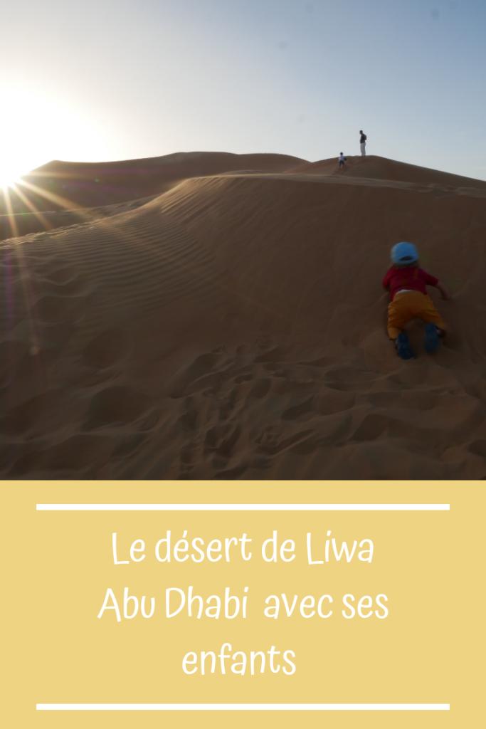 Abu Dhabi en famille, sejourner au Qsar al Sarah dans le désert de Liwa