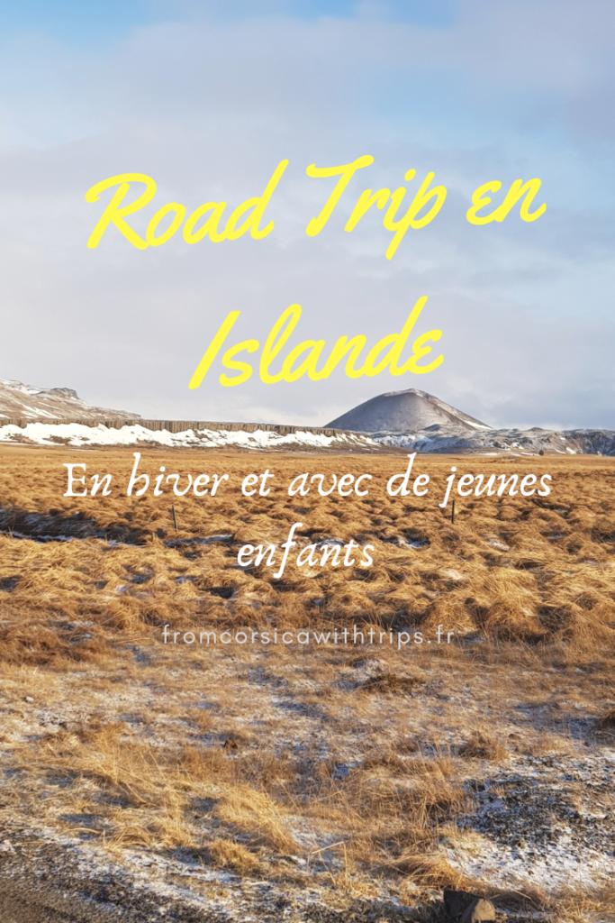 Road trip en Islande, en hiver avec de jeunes enfants. Préparer son voyage dans le cercle d'or et le Snaefellsnes
