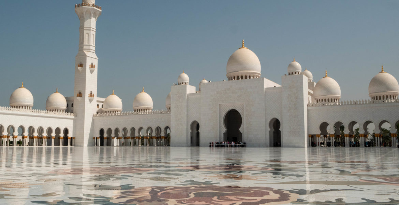 La grande mosquée cheik Zayed, symbole d'abu dhabi