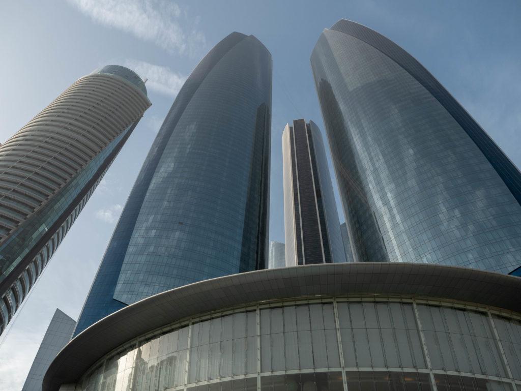 vue d'ensemble des etihad towers
