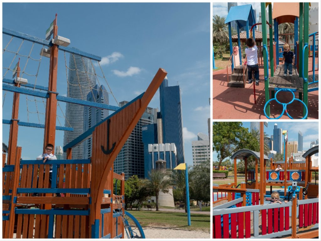 Vacances à Abu Dhabi en famille : Family Park