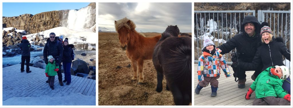 clichés de ce voyage en Islande en famille, l'hiver