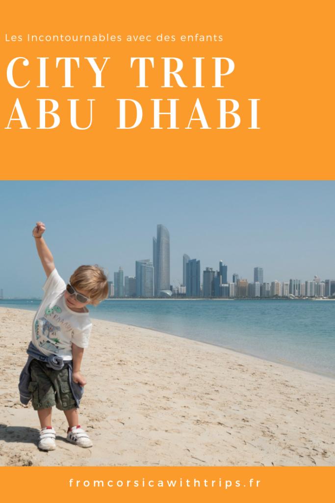City trip à Abu Dhabi, les visites incontournables avec de jeunes enfants