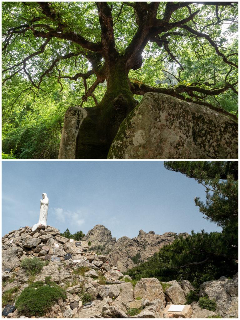 Les aiguilles de bavella offrent de belles randonnées familiales en Corse du sud