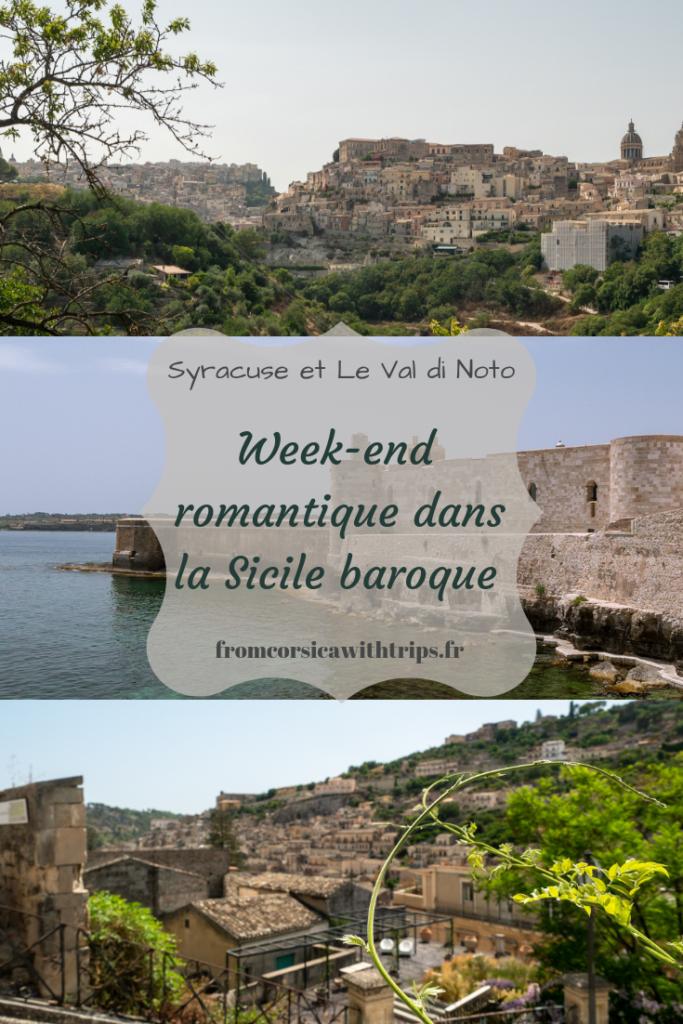 Week-end en Sicile: Syracuse et le Val di Noto. Visite de la Sicile baroque