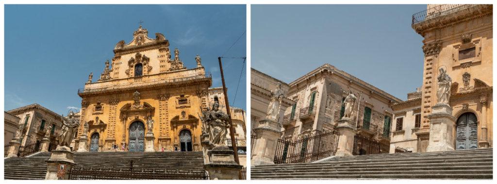 Le Duomo San Pietro à Modica Bassa, façade