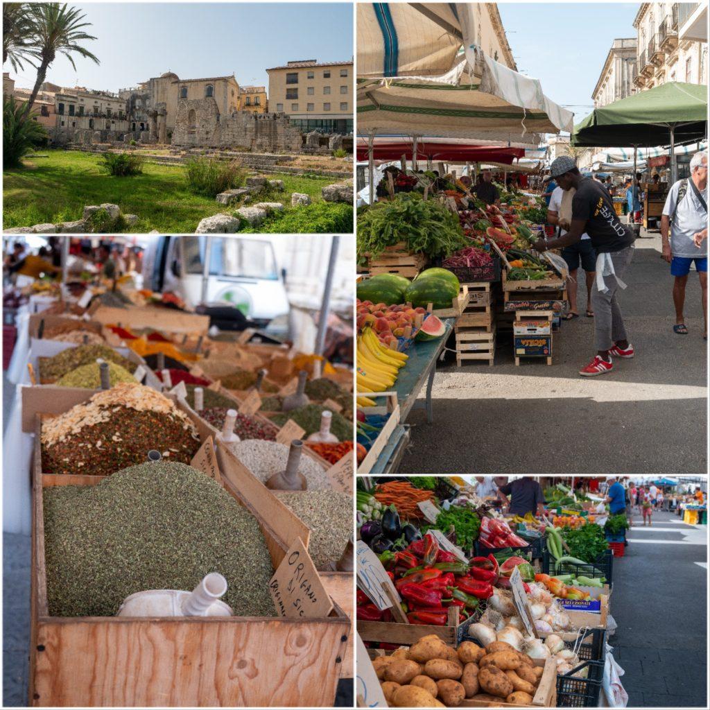 Week-end en Sicile : visite de Syracuse, le marché