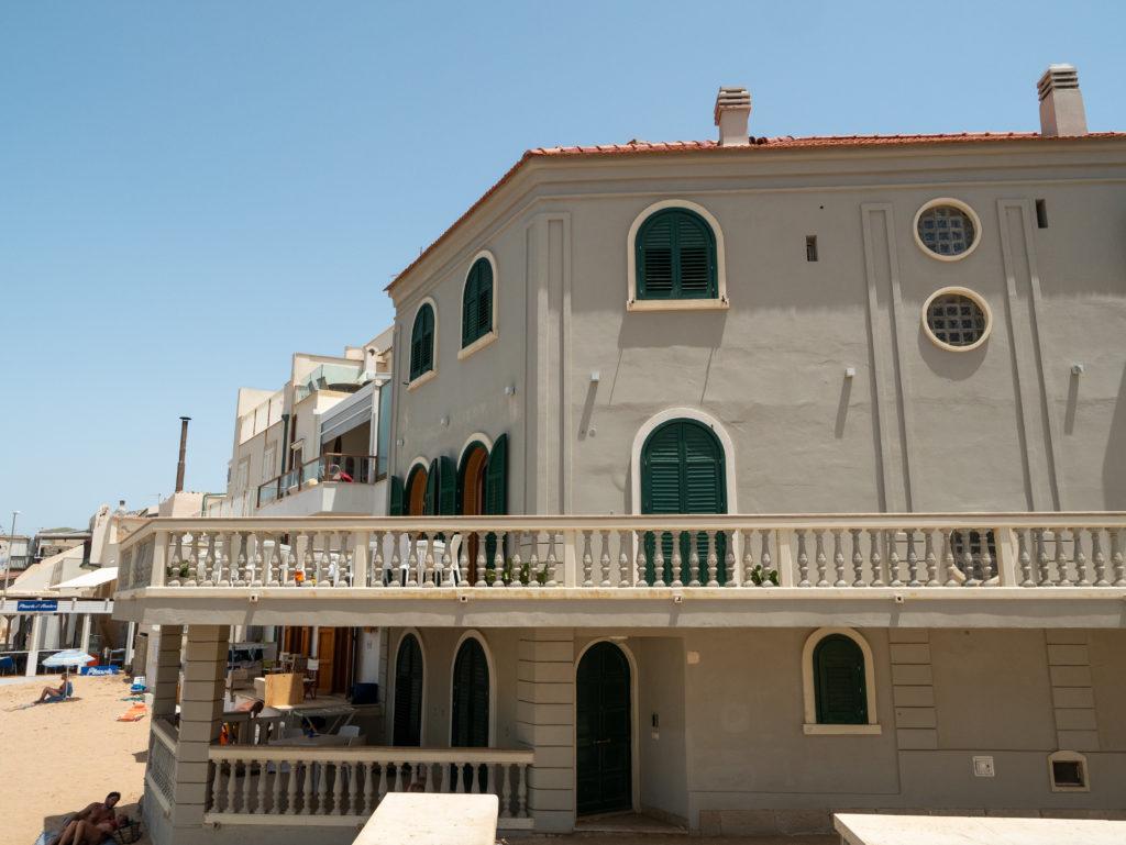 Les lieux de tournage de Montalbano : Punta Secca