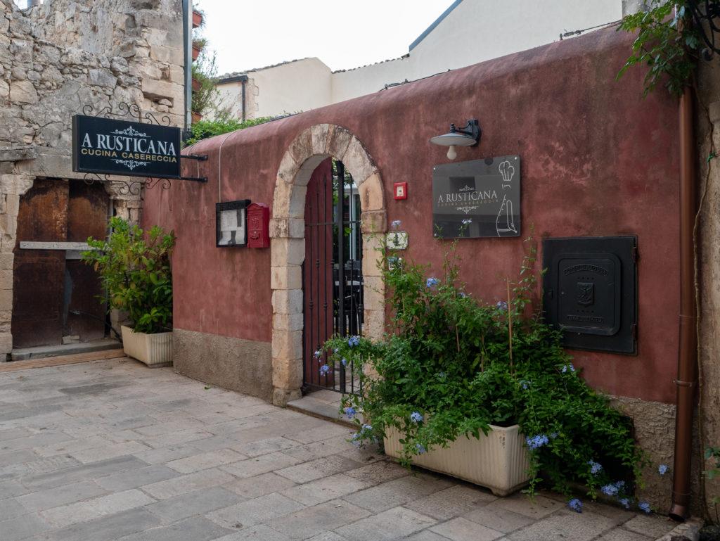 Le restaurant préféré de Montalbano à Ragusa