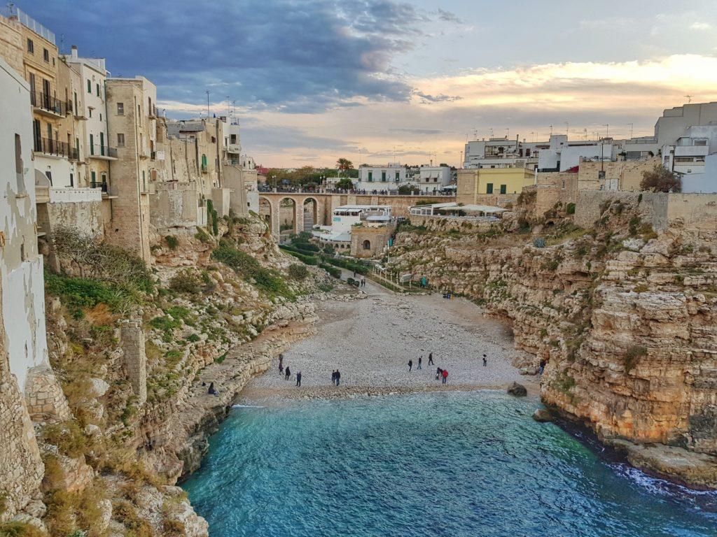 Voyage en famille dans les Pouilles : Polignano a Mare