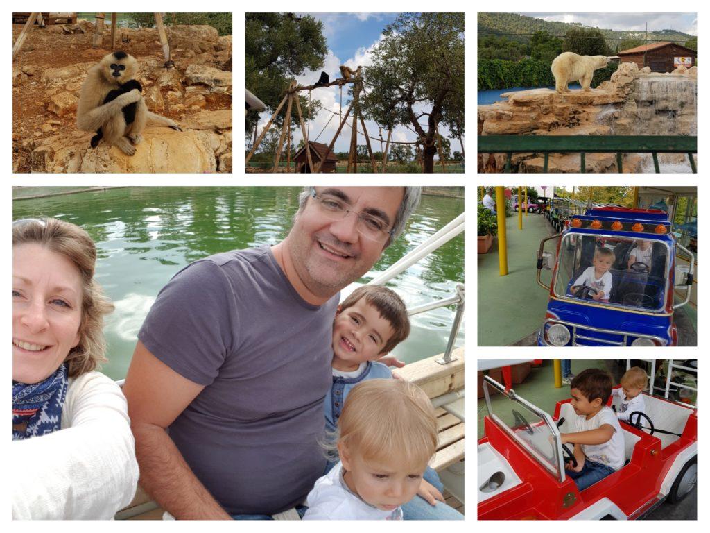 Le zoo safari de Fasano, idée de sortie avec les enfants lors d'un voyage dans les Pouilles
