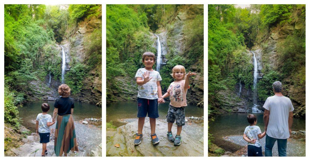 Visiter la Castagniccia en famille, la cascade  de la Struccia