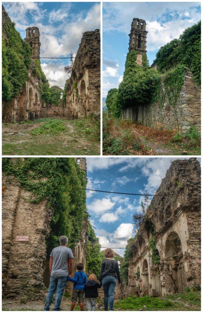 Le couvent en ruines de Saint François d'Orezza, haut lieu de l'histoire corse
