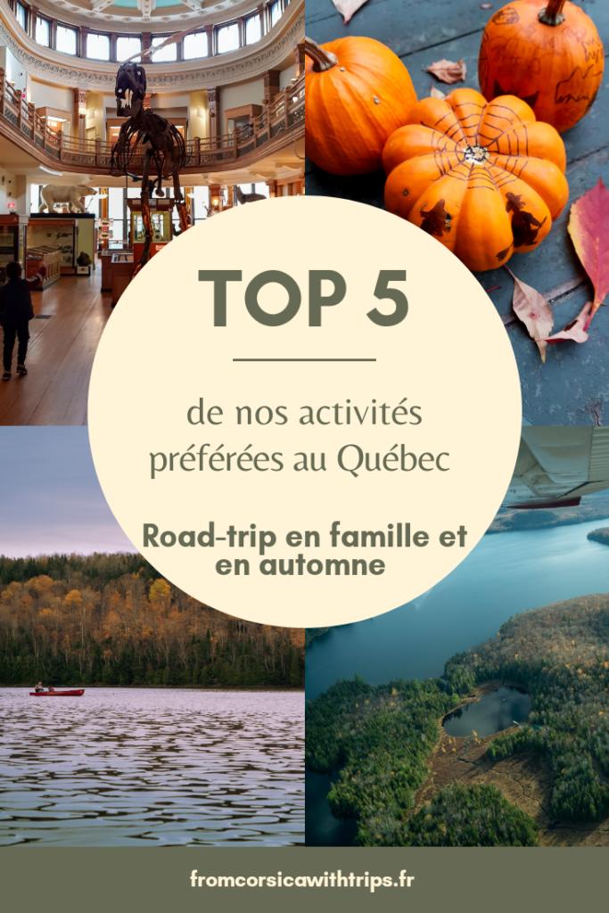 Voyage en famille au Québec : top 5 de nos activités préférées dans la belle Province.