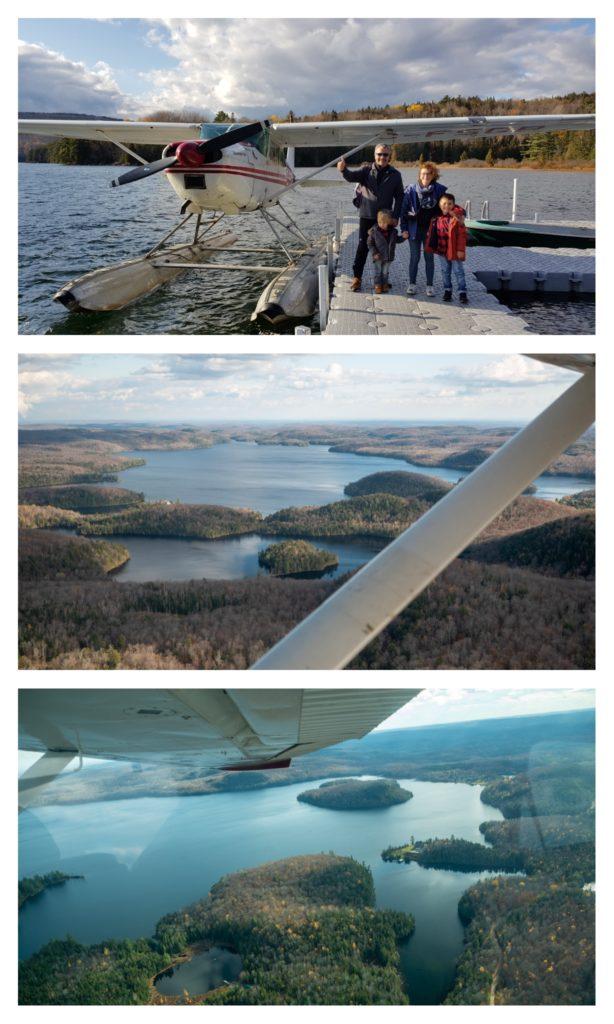 Vol en hydravion au dessus du parc de la Mauricie : un incontournable d'un voyage au Québec