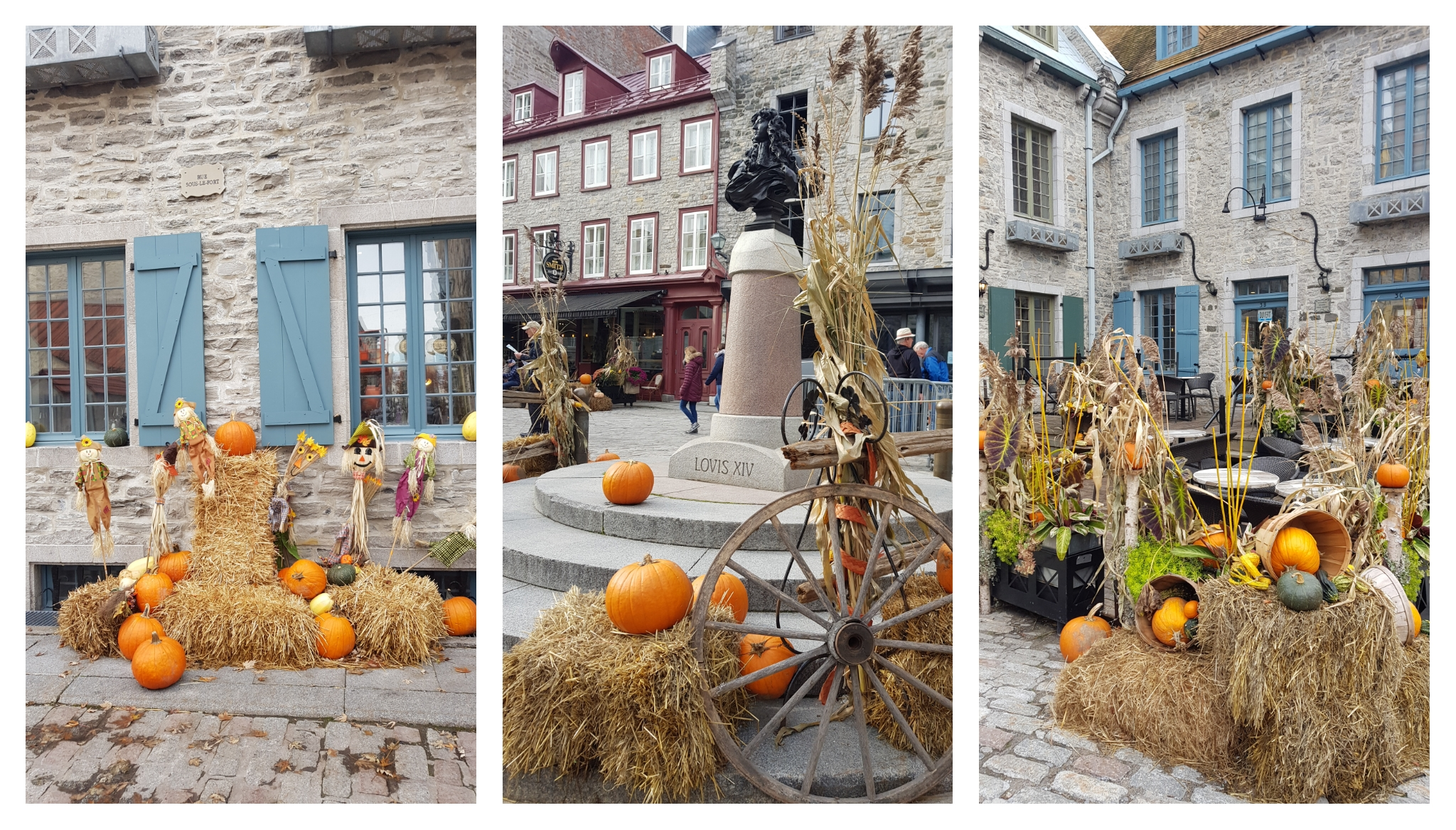 Visiter Québec avec des enfants à halloween