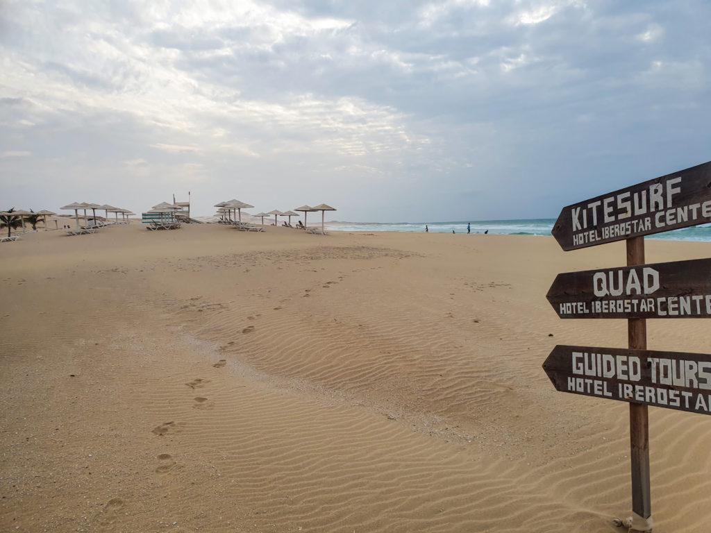 Boa Vista, plage de l'Iberostar pour des vacances en famille au Cap Vert