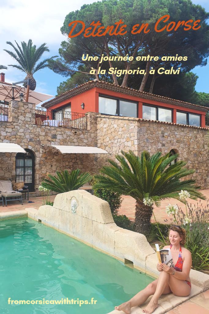L'hotel La Signoria en Balagne pour une parenthèse de luxe
