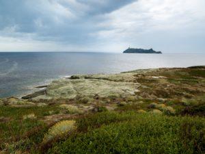 l'île de la Giraglia, extrême pointe de la Corse