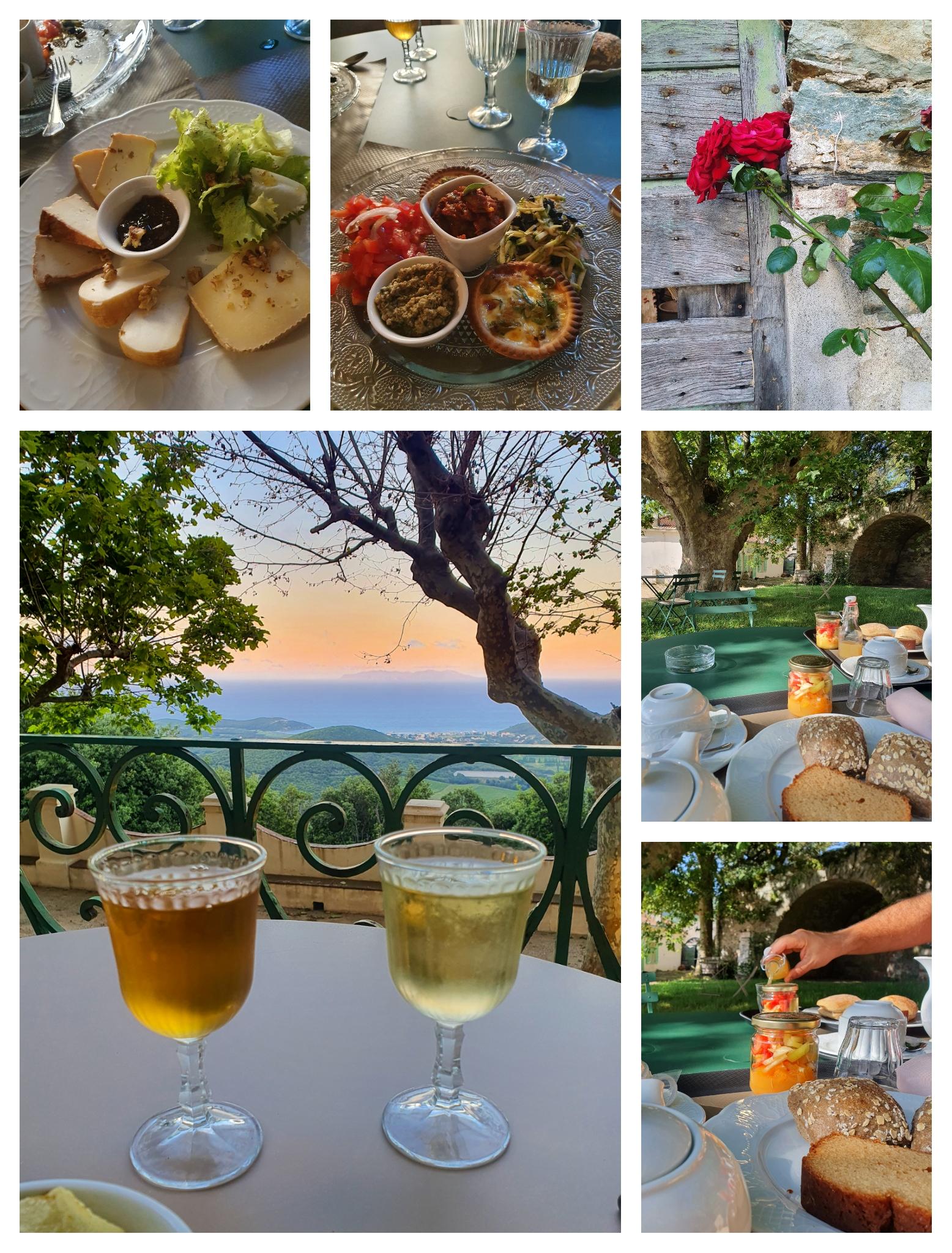Le Palazzu Nicrosi à Rogliano, Cap Corse. Demeure de charme pour séjour en amoureux