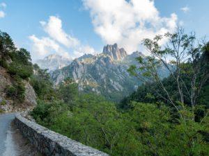Les monts Kyrie et Christe Eleison à Ghisoni, centre Corse