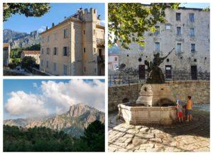 Visiter Ghisoni et centre Corse