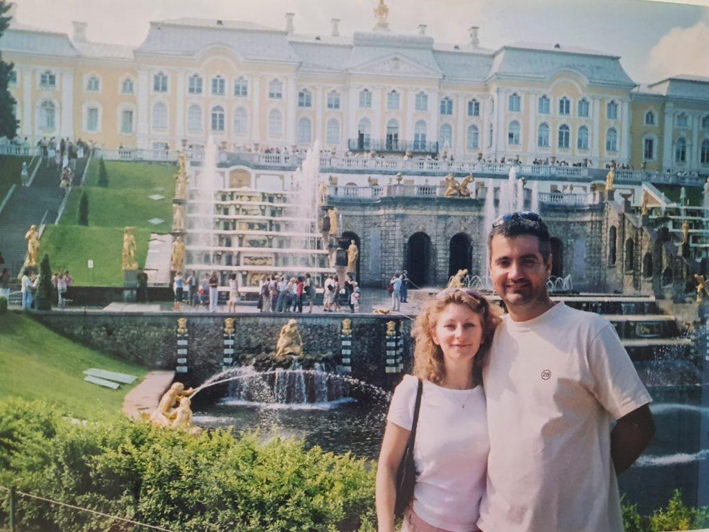 café des voyageurs, Saint Petersbourg et la Russie