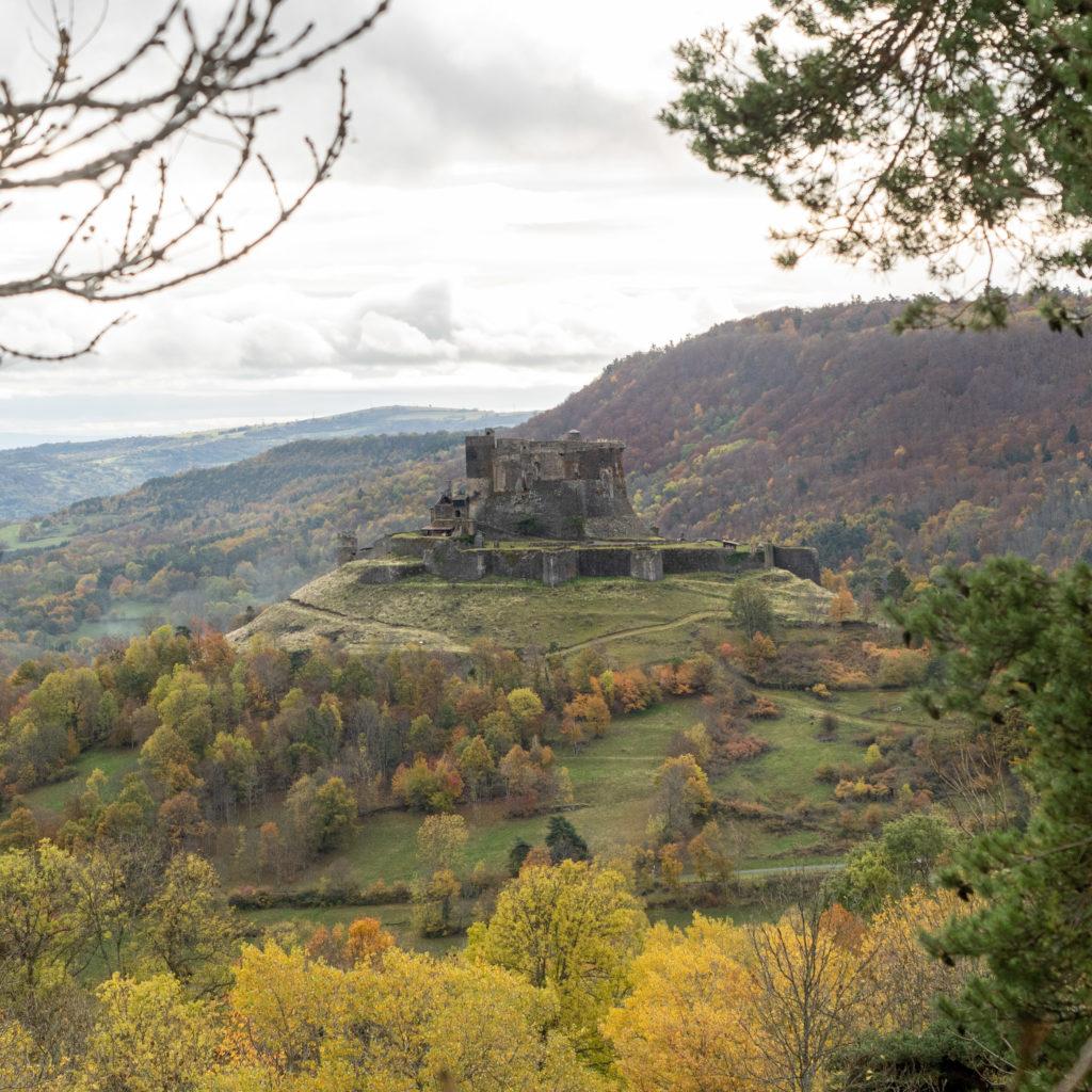 Le chateau de Murol, visiter l'Auvergne en famille