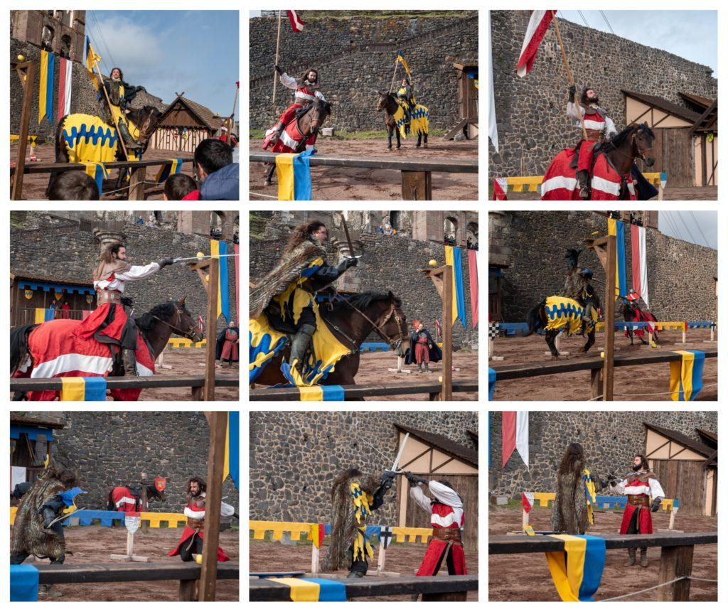 Visite du château de Murol pendant les vacances de la toussaint