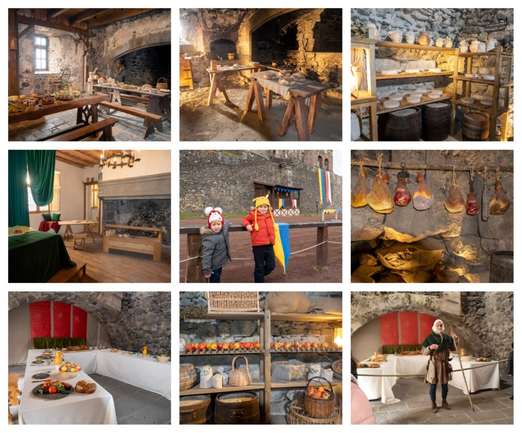 visiter le Chateau de Murol en Auvergne, vacances en famille dans le Puy de Dôme