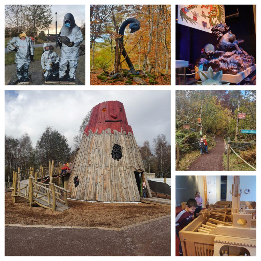 Séjour en Auvergne en famille : découvrir Vulcania, le parc d'attraction sur les volcans et les phénomènes naturels.