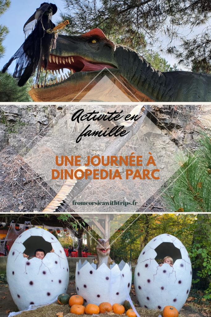 dinopedia parc, activité en famille dans le Gard, Cevennes