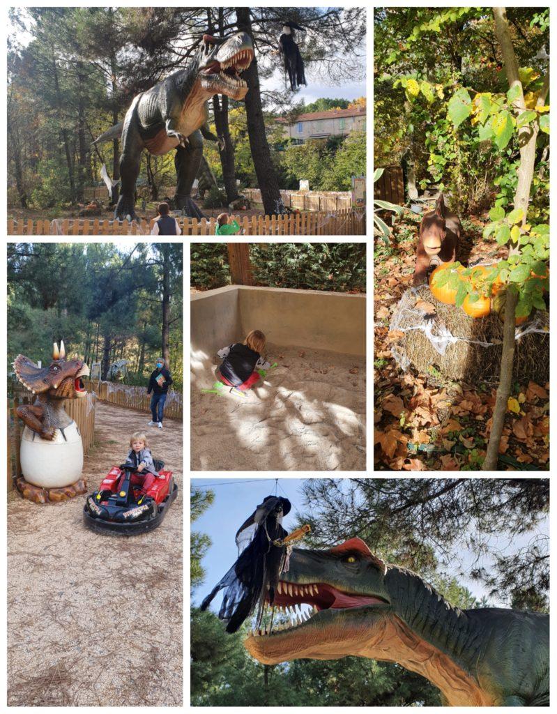Dinopedia parc, idée de sortie familiale en Cevennes, Gard