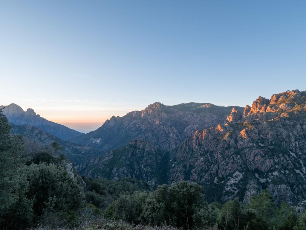 Côté ouest de la Corse, Porto et les gorges de la Spelonca