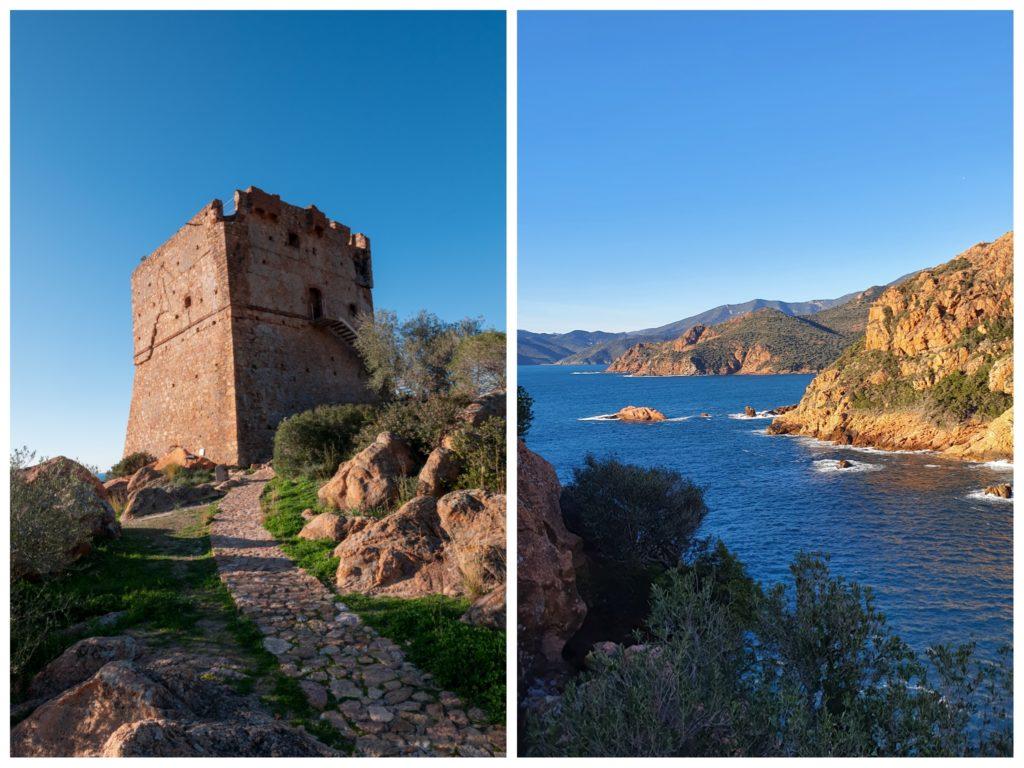 Weed end en hiver sur la cote ouest de la Corse. Porto en famille