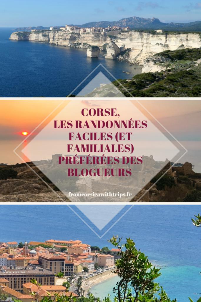 Corse, randonnées faciles et familiales