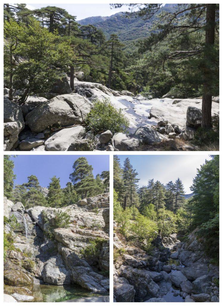 Randonnée familiale en Corse : la cascade des Anglais, centre Corse