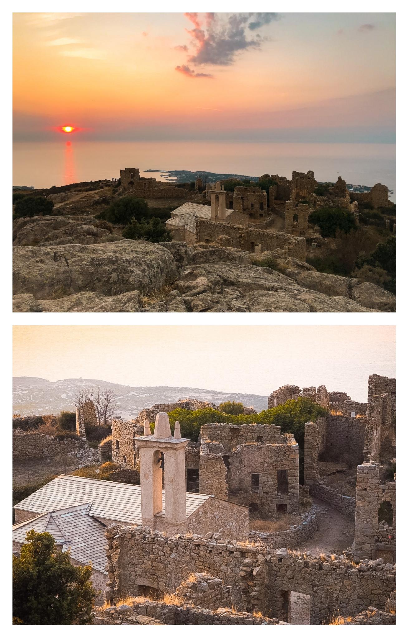 Randonnée facile en Corse : le village abandonné d'Occi en Balagne