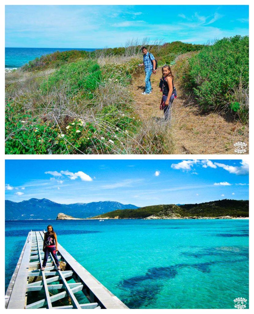 Corse, randonnée familiale : les plages de Saleccia et du Lotu