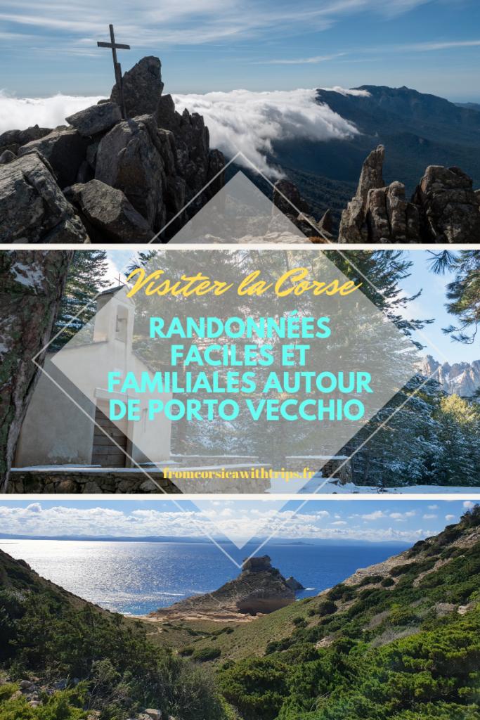 Randonnées faciles et familiales dans le sud de la Corse