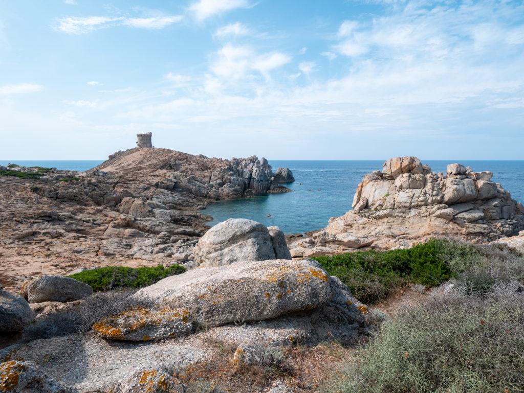 Découvrir la côte ouest de la Corse, Cargese