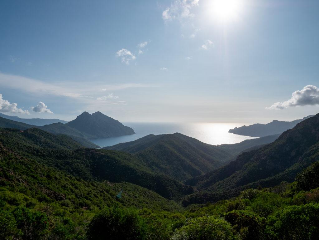 Découvrir la Corse de l'ouest, la route des calanche, bocca a palmarella