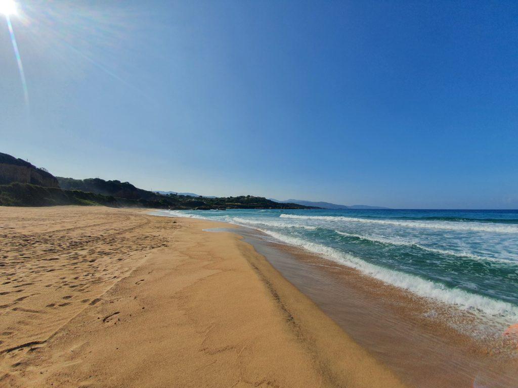 La cote ouest de la Corse, les plages de Sagone