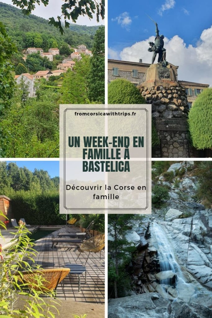 Week-end à Bastelica avec des enfants, visiter la Corse du Sud